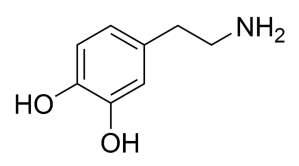 molécule de dopamine